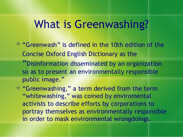 Florida Real Estate News –  Homebuyers should be on the lookout for 'greenwashing'